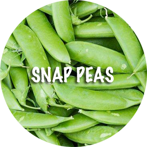 how to clean snap peas